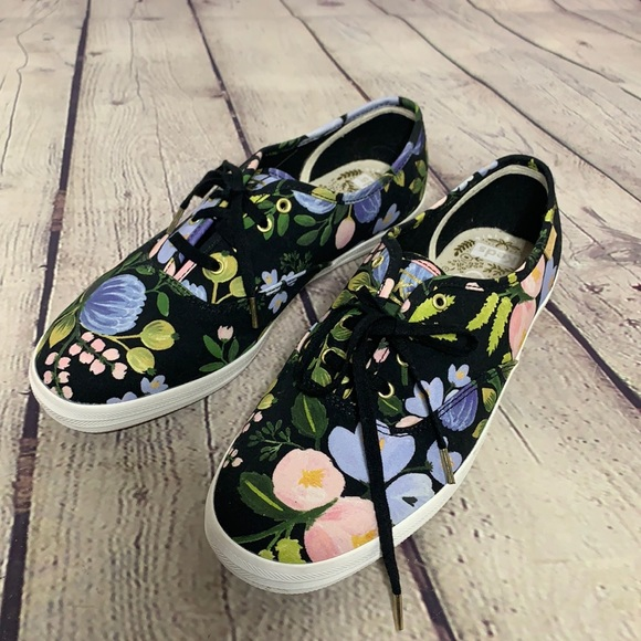 Keds x Rifle Paper Co. Botanical Champion sneakers